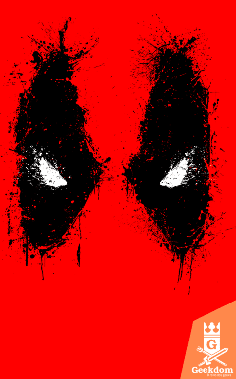 Camiseta Deadpool - Splash Eyes - by Ddjvigo