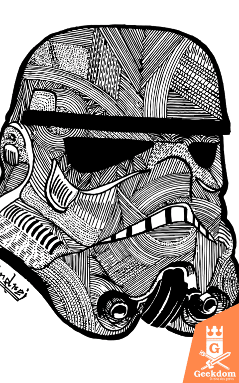Camiseta Star Wars - Stormtrooper - by Andrei
