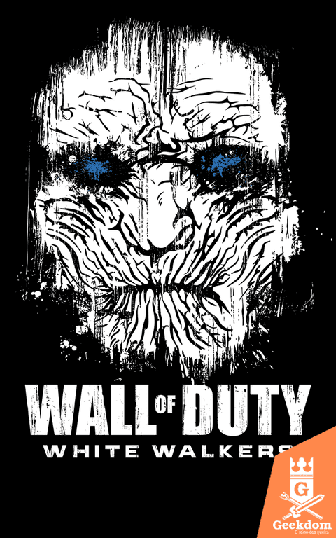 Camiseta Wall of Duty - by Le Duc