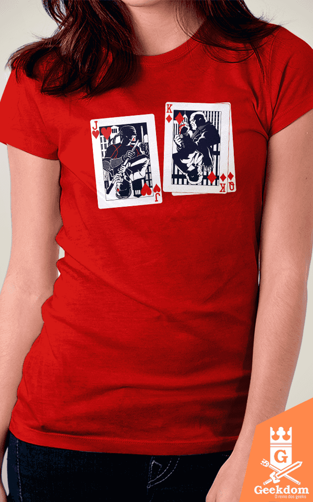 Camiseta Demolidor - Cartas do Jogo - by HugoHugo | www.geekdomstore.com