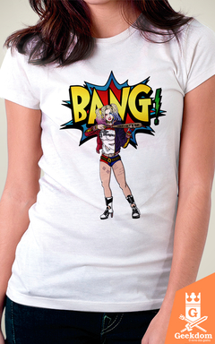 Camiseta Harley Quinn - Bang - by Andrei - comprar online