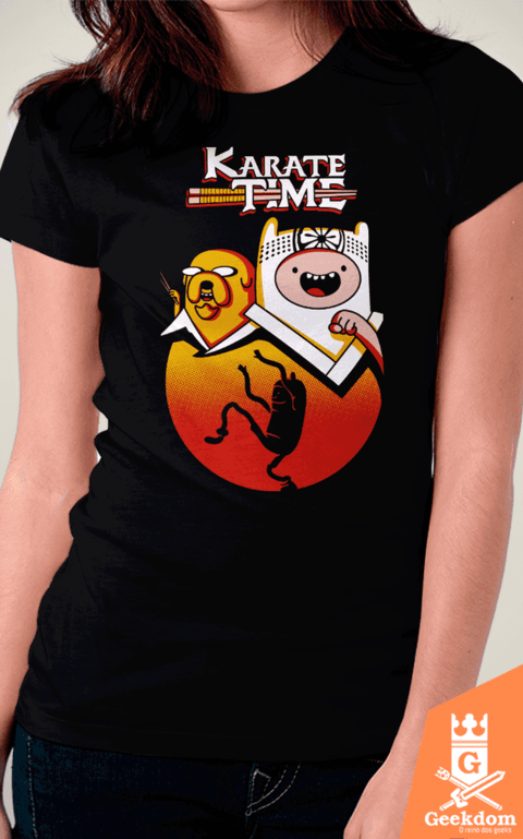 Camiseta Karate Time - by Olipop | www.geekdomstore.com