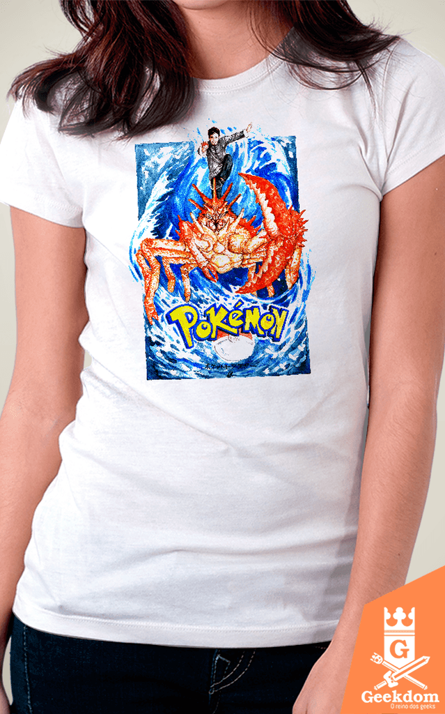 Camiseta Pokemon - Kingler - by Guimarães | www.geekdomstore.com