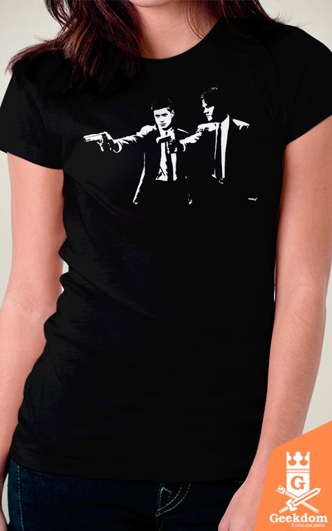 Camiseta Supernatural Fiction - by Ddjvigo - comprar online
