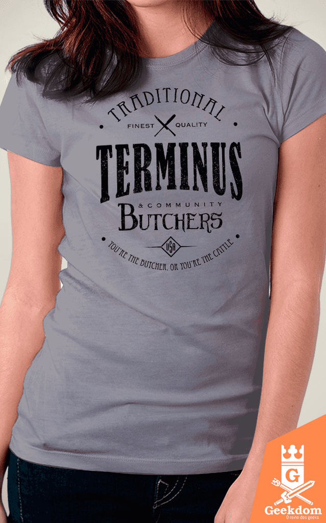 Camiseta The Walking Dead - Terminus Butchers - by Olipop | www.geekdomstore.com