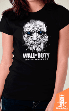 Camiseta Wall of Duty - by Le Duc | www.geekdomstore.com