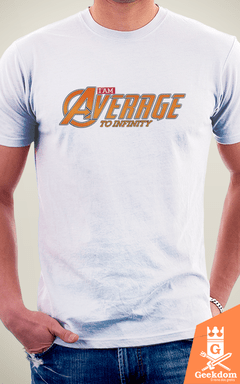 Camiseta Vingadores - Average - by RicoMambo | Geekdom Store | www.geekdomstore.com