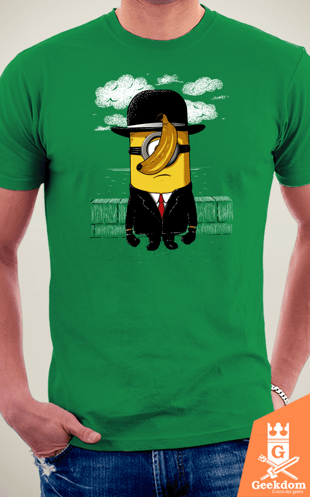 Camiseta Minion Magritte - by Le Duc na internet