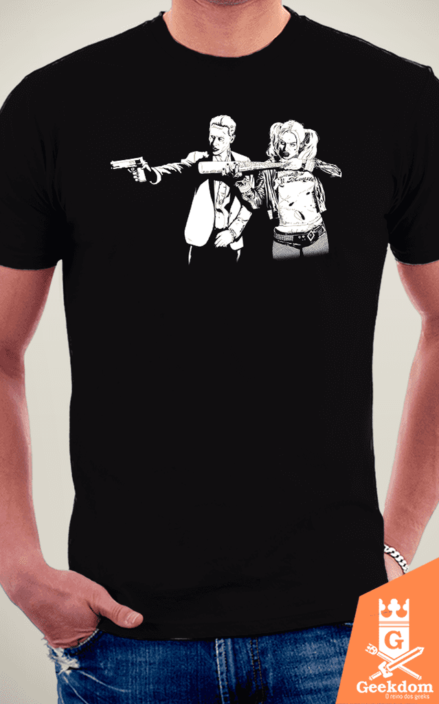 Camiseta Suicide Fiction - by Ddjvigo | www.geekdomstore.com