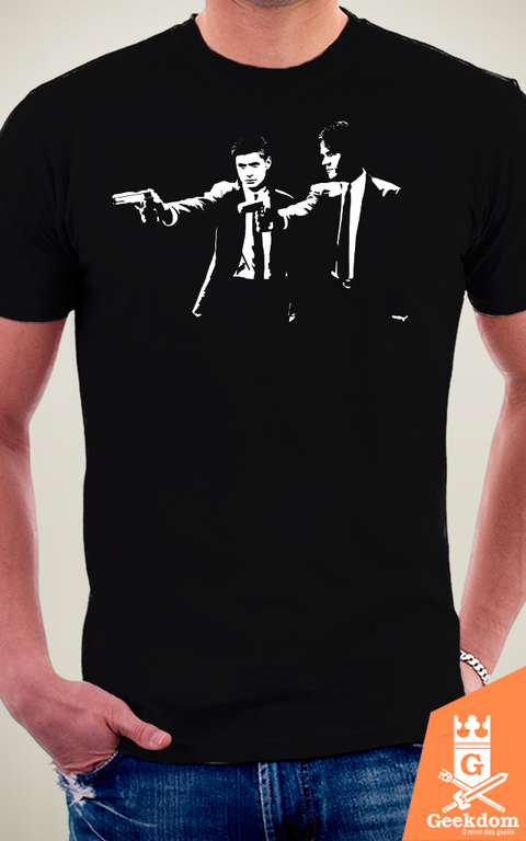 Camiseta Supernatural Fiction - by Ddjvigo na internet