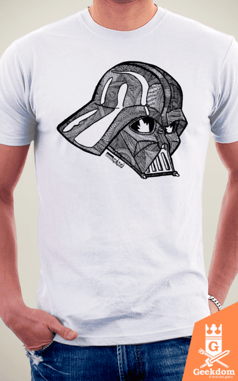 Camiseta Star Wars - Darth Vader - by Andrei | w