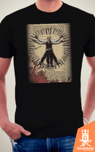Camiseta Coringa - Assassino Vitruviano - by Ddjvigo