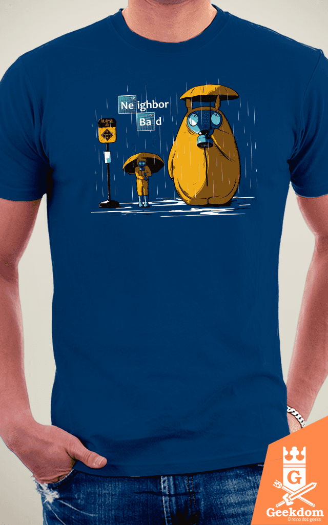 Camiseta Neighbor Bad - by Le Duc na internet