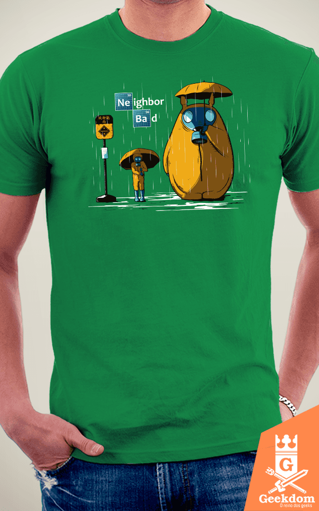 Camiseta Neighbor Bad - by Le Duc - loja online