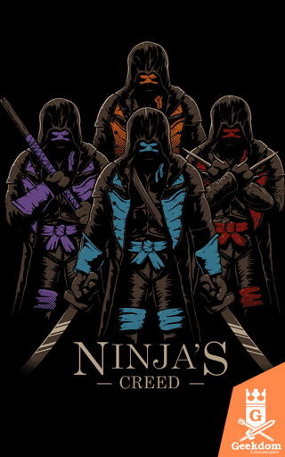Camiseta Ninja Creed - by Le Duc