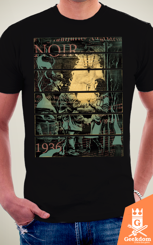 Camiseta Noir 1936 - by RicoMambo na internet