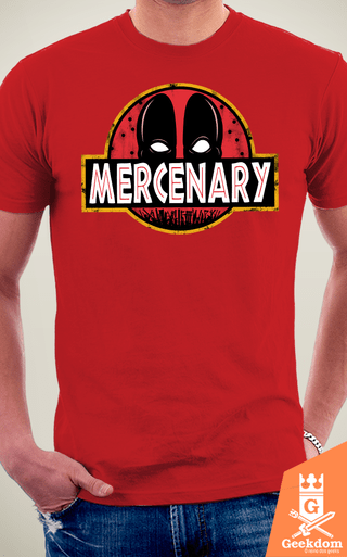 Camiseta O Parque do Mercenário - by Pigboom | Geekdom Store | www.geekdomstore.com