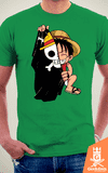 Camiseta One Piece - Bandeira - by PsychoDelicia na internet