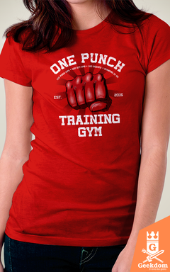 Camiseta One-Punch Academia - by Ddjvigo - comprar online