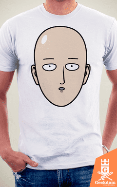 Camiseta One-Punch Man - Herói Careca - by Pigboom - loja online
