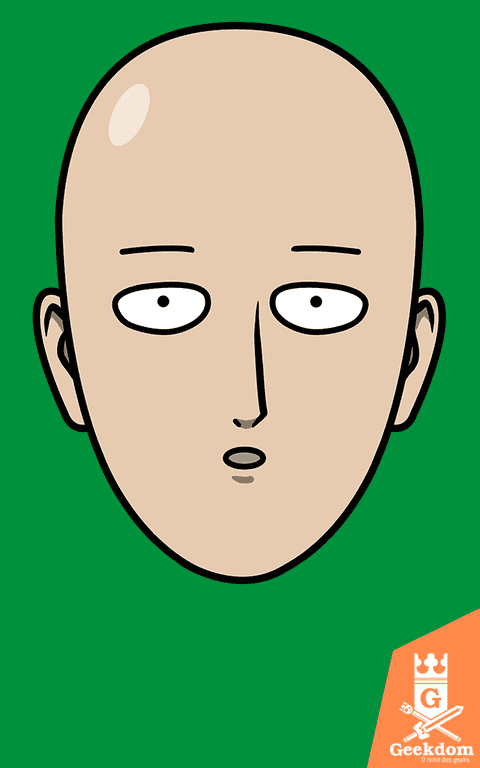 Camiseta One-Punch Man - Herói Careca - by Pigboom