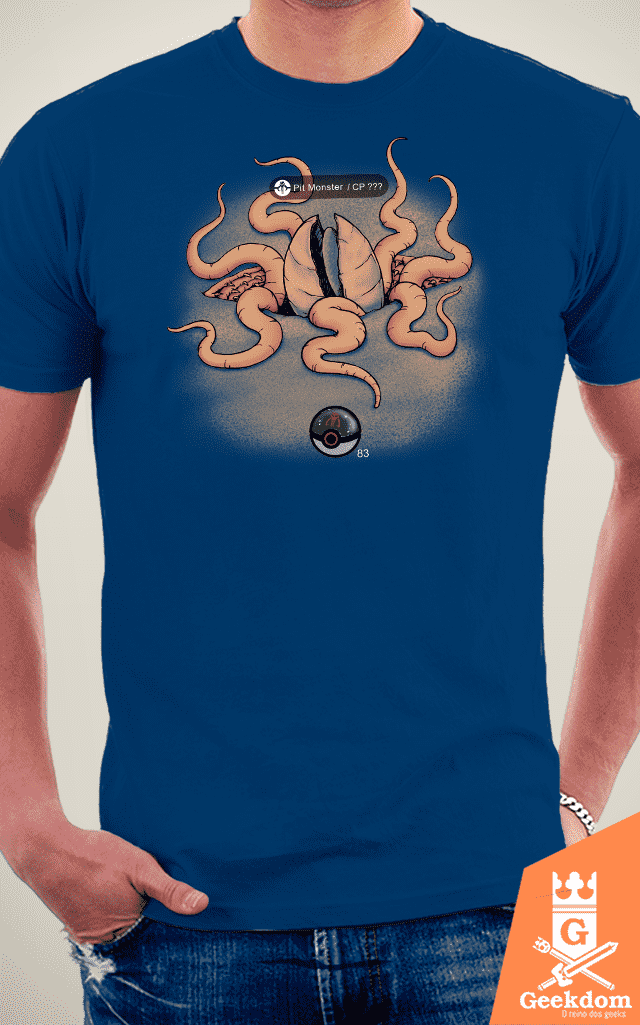 Camiseta Pit-Monster - by Pigboom - loja online