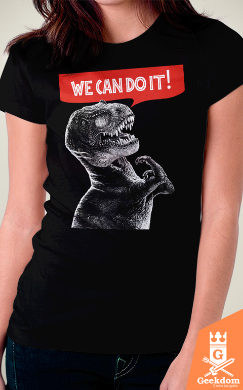 Camiseta Rexy Can Do It - HugoHugo - comprar online