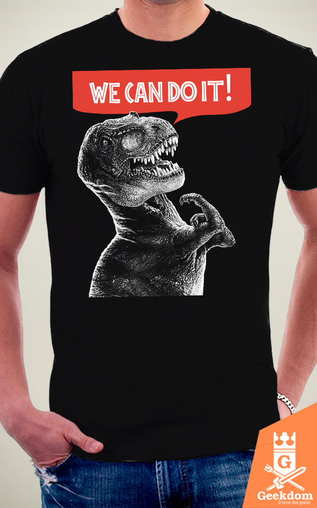Camiseta Rexy Can Do It - HugoHugo na internet