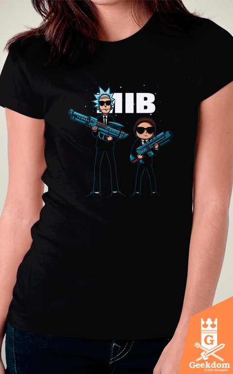 Camiseta Rick and Morty - In Black - by Le Duc | Geekdom Store | www.geekdomstore.com