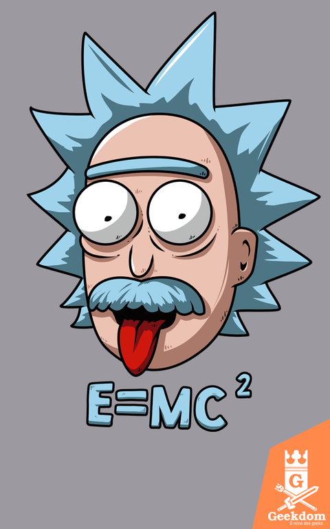 Camiseta Rick and Morty - Relatividade - by Le Duc