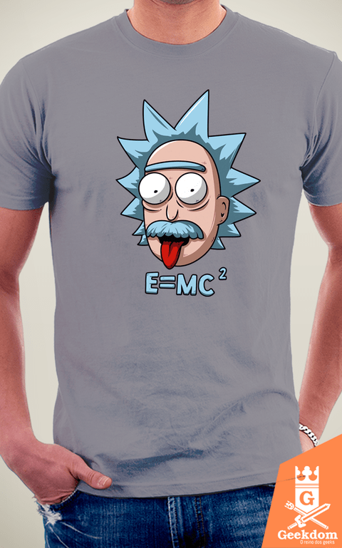Camiseta Rick and Morty - Relatividade - by Le Duc | Geekdom Store | www.geekdomstore.com