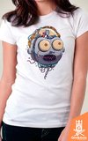 Camiseta Rick and Morty - X-Machina - by Vincent Trinidad Art | Geekdom Store | www.geekdomstore.com