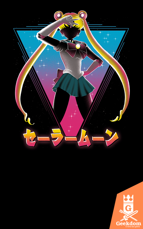 Camiseta Sailor Moon - Bela Soldado - by Ddjvigo