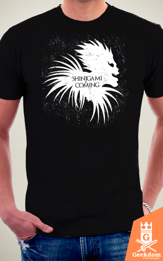Camiseta Shinigami Is Coming - by Ddjvigo na internet
