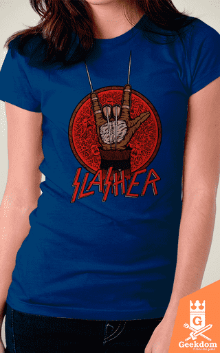 Camiseta Slasher - by Pigboom - Geekdom Store - Camisetas Geek Nerd