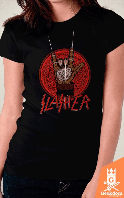 Camiseta Slasher - by Pigboom - comprar online