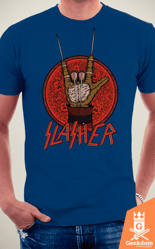 Camiseta Slasher - by Pigboom - loja online