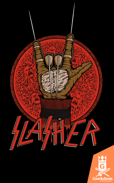 Camiseta Slasher - by Pigboom