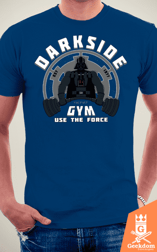Camiseta Star Wars - Academia Lado Negro - by Pigboom na internet