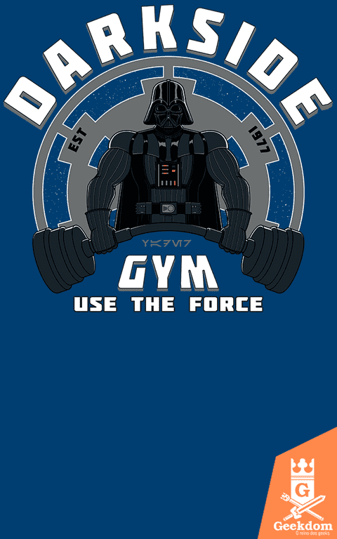 Camiseta Star Wars - Academia Lado Negro - by Pigboom