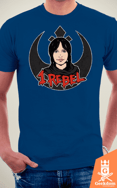 Camiseta Star Wars - Eu me Rebelo - by Pigboom - loja online