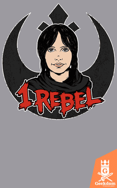 Camiseta Star Wars - Eu me Rebelo - by Pigboom