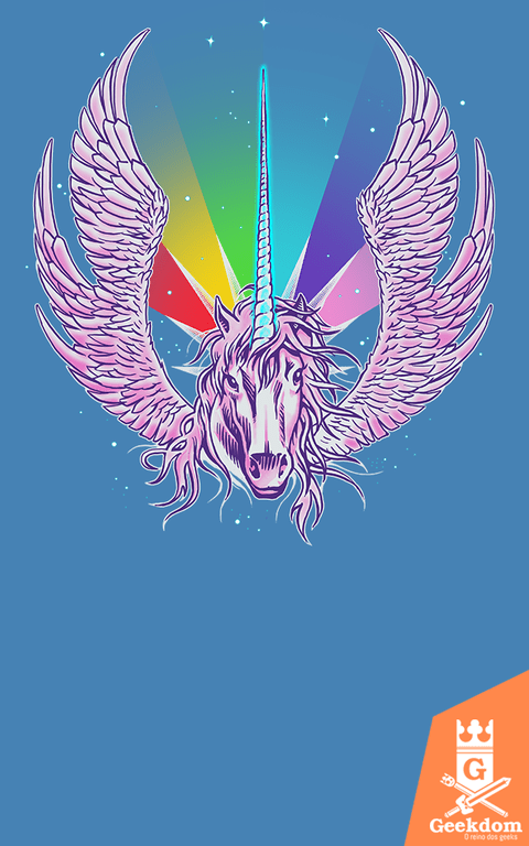 Camiseta Star Wars - Jedicorn - by RicoMambo