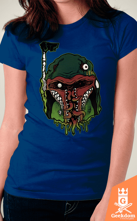 Camiseta Star Wars - Monster Fett - by Pigboom - Geekdom Store - Camisetas Geek Nerd