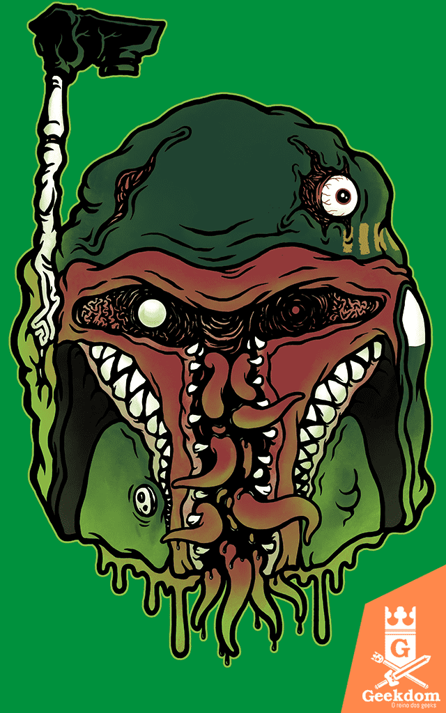 Camiseta Star Wars - Monster Fett - by Pigboom