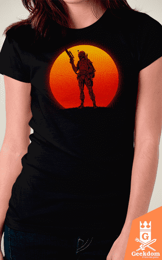 Camiseta Star Wars - Pôr do Sol Mandaloriano - by Ddjvigo - comprar online
