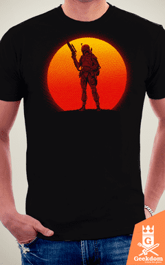 Camiseta Star Wars - Pôr do Sol Mandaloriano - by Ddjvigo na internet