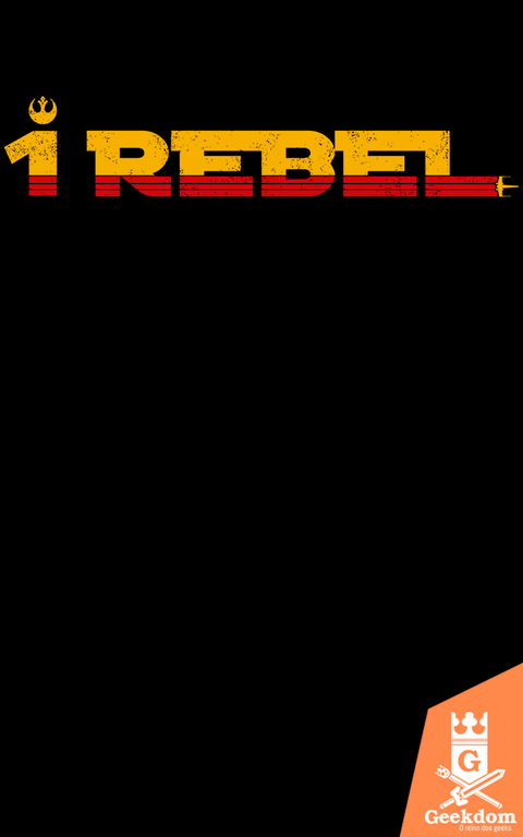 Camiseta Star Wars - Rogue 1 Rebel - by Pigboom