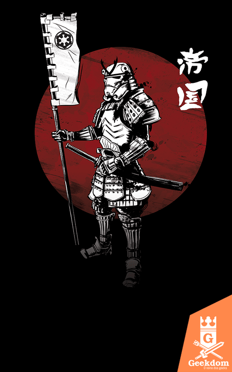 Camiseta Star Wars - Samurai do Império - by Ddjvigo