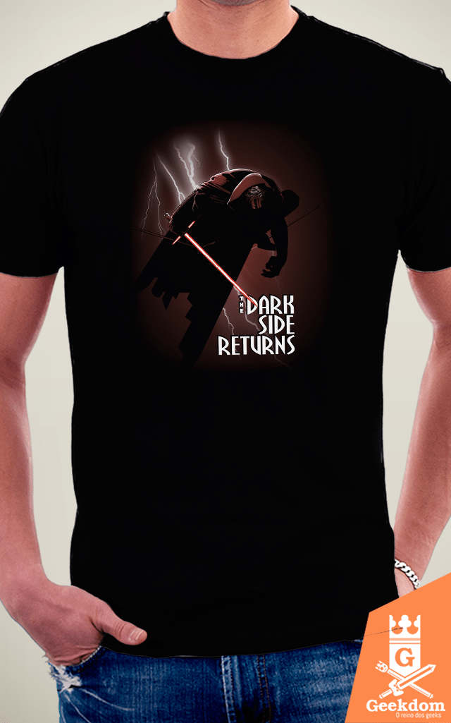 Camiseta Star Wars - The Dark Side Returns - by Ddjvigo na internet